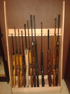 Rifle rack 3